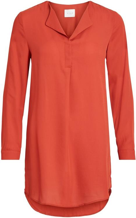 Vilucy l/s tunic Ketchup