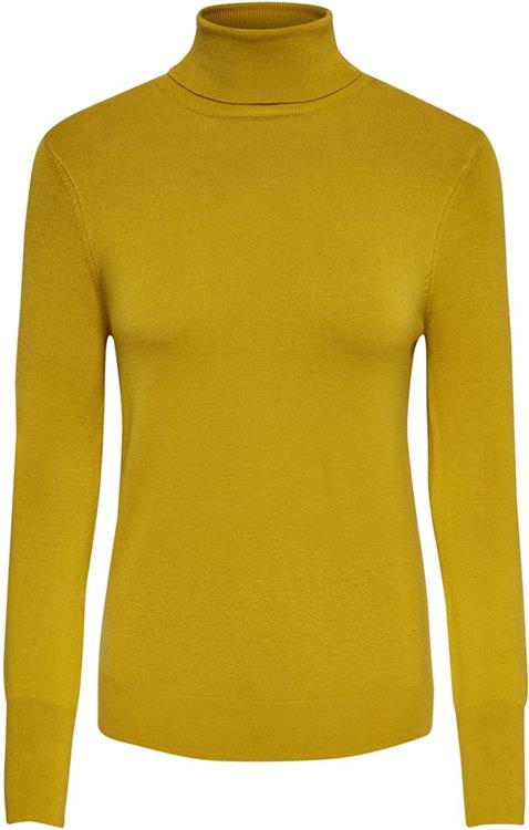 Onlvenice l/s rollneck pullover knt noos Golden yellow