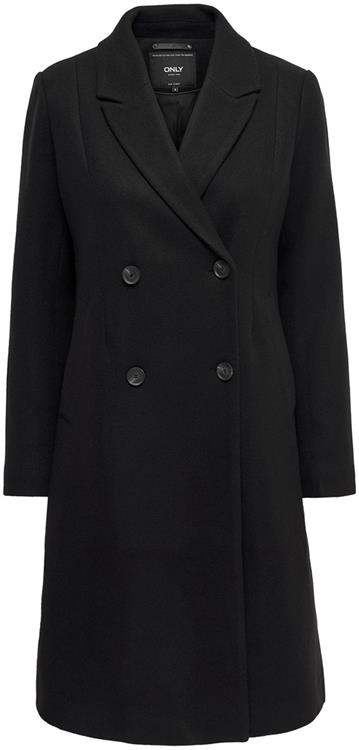 Onllouisa wool coat cc otw Black