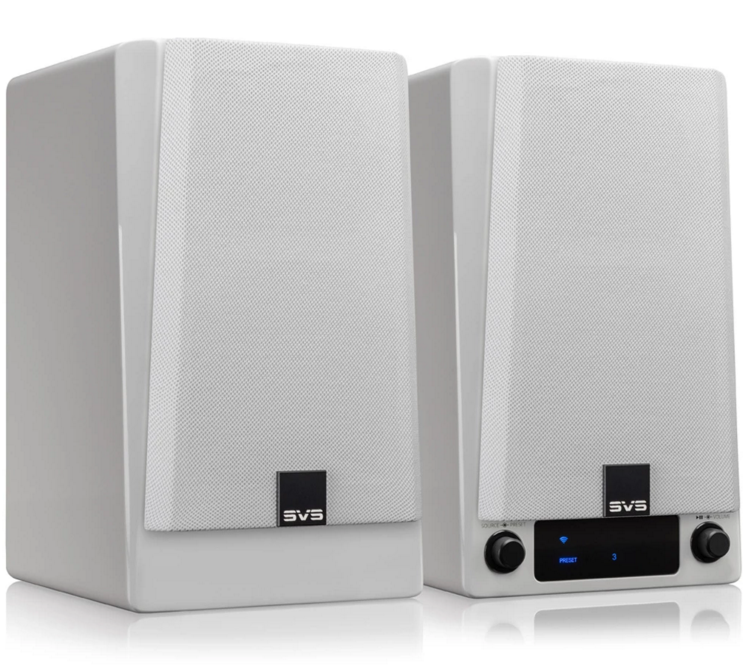 SVS Prime Wireless Speaker System (set van 2) White Gloss