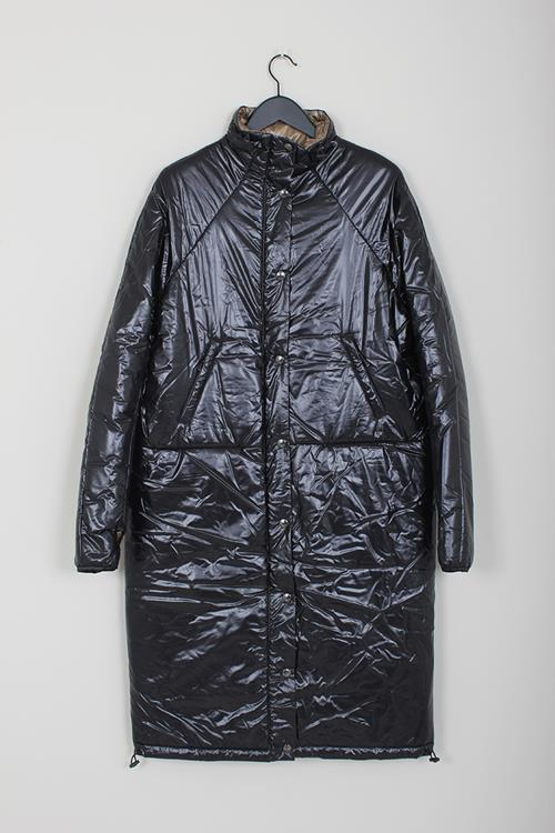 KASSL nylon puffer black below the knee