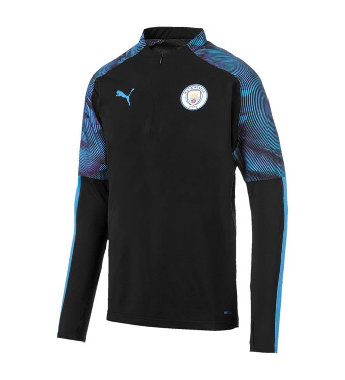 Puma Manchester City FC 1/4 Zip Top 2019/2020 M