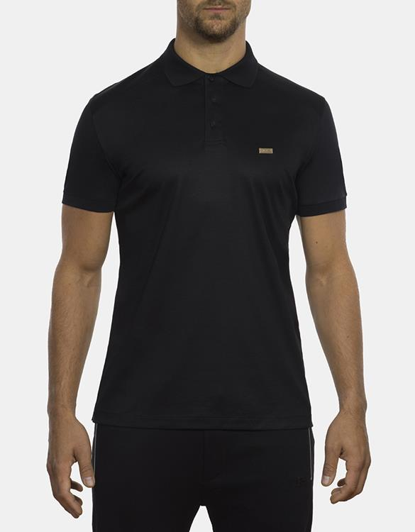 Bimaldi Sports Polo Mercerized Black