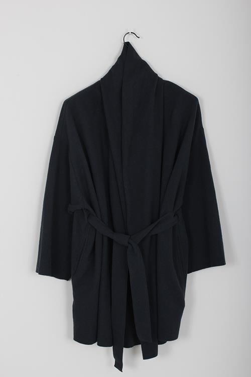 Black Crane sack jacket midnight