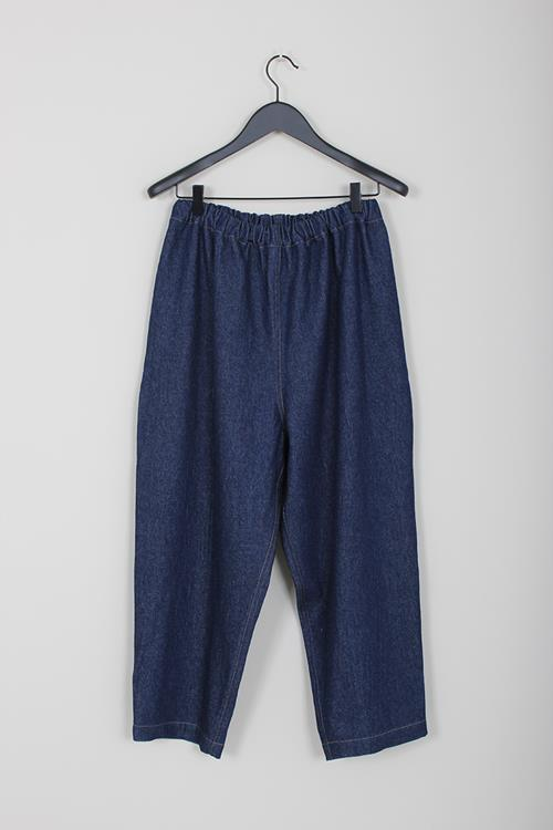 Lauren Manoogian denim pantaloon indigo