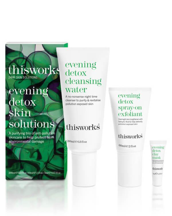 This Works - Evening Detox Skin Solutions - 200 ml + 60 ml + 5 ml