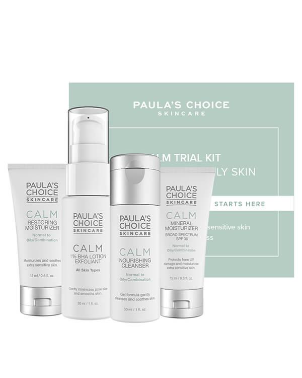 Paula's Choice - Calm Trial Kit Normal to Oily - 2 x 30 ml + 2 x 15 ml