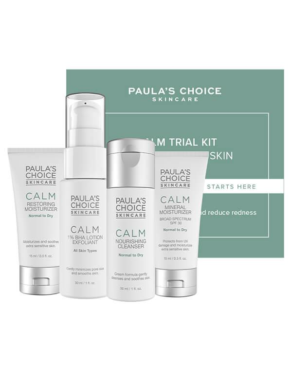 Paula's Choice - Calm Trial Kit Normal to Dry - 2 x 30 ml + 2 x 15 ml
