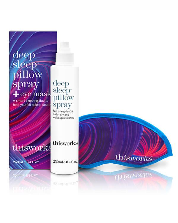 This Works - Deep Sleep? Pillow Spray + Eye Mask - 250 ml + 1 st