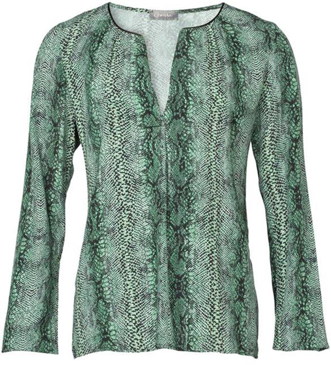 Geisha blouse Green combi