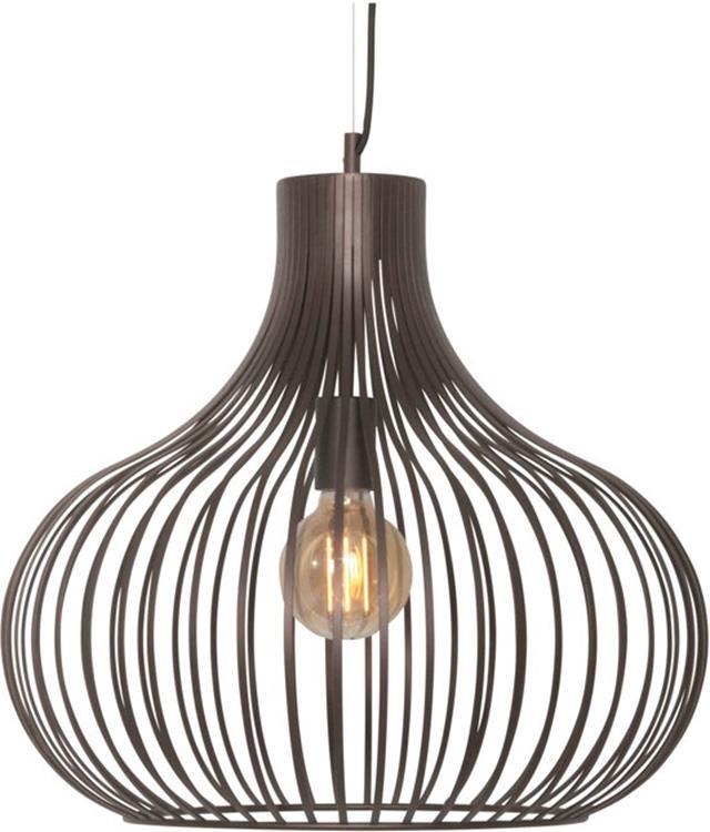 Freelight Hanglamp Aglio 48 cm - bruin