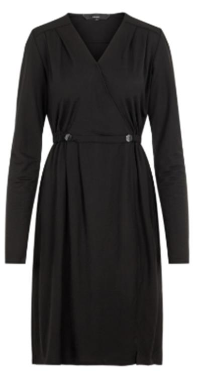 Vmcam ls knee dress jrs Black