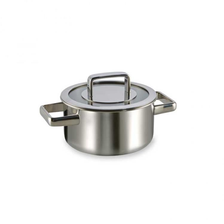 Habonne Royal kookpan met glasdeksel - Ø16 cm