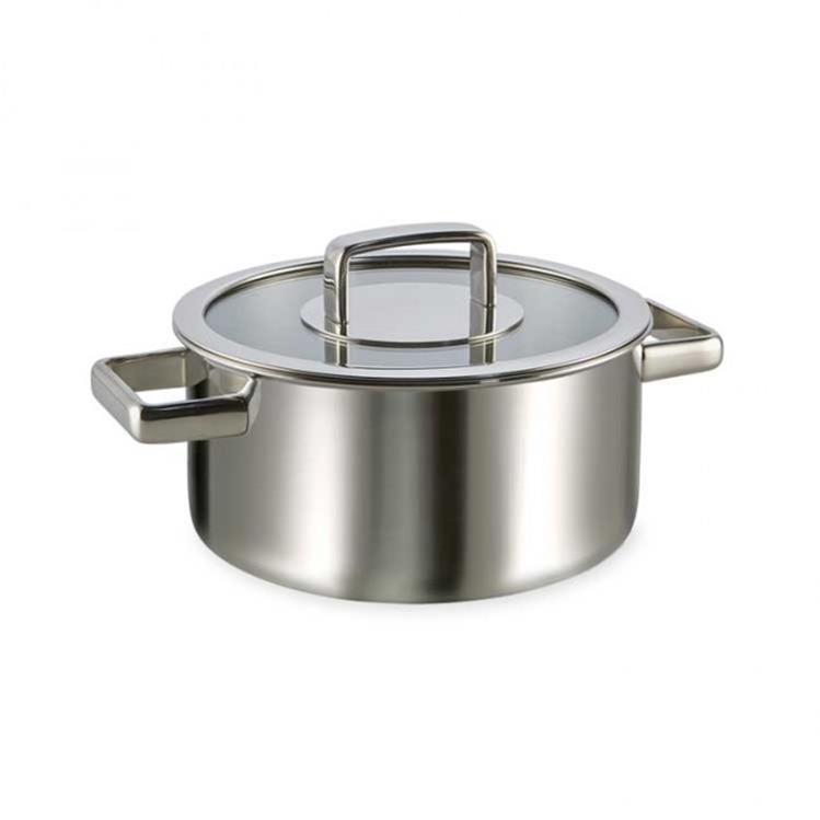 Habonne Royal kookpan met glasdeksel - Ø20 cm