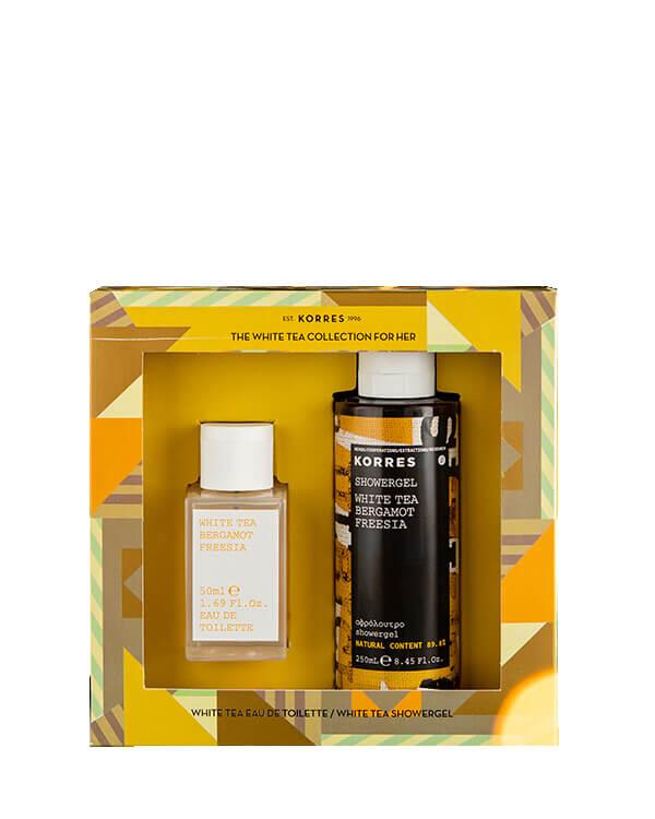 Korres - The White Tea Collection for Her - 50 ml + 250 ml