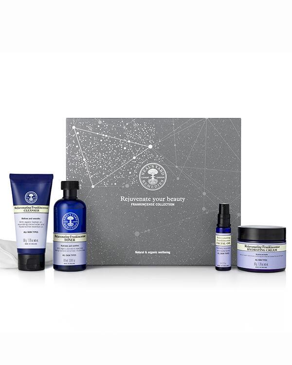 Neal's Yard Remedies - Rejuvenate Your Beauty Frankincense Collection - 2 x 50 gr + 100 ml + 8 ml + 1 st