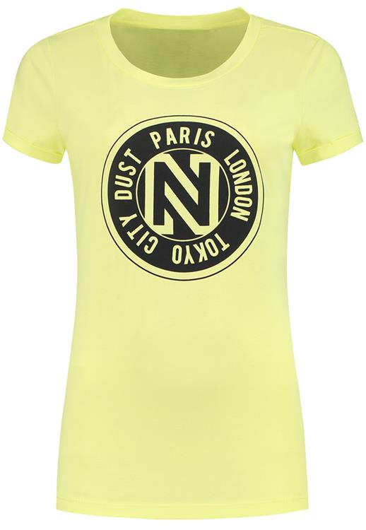NIKKIE logo t-shirt 3000 yellow