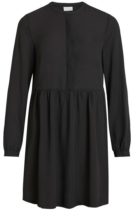 VIDOTTIA L/S DRESS/L BLACK