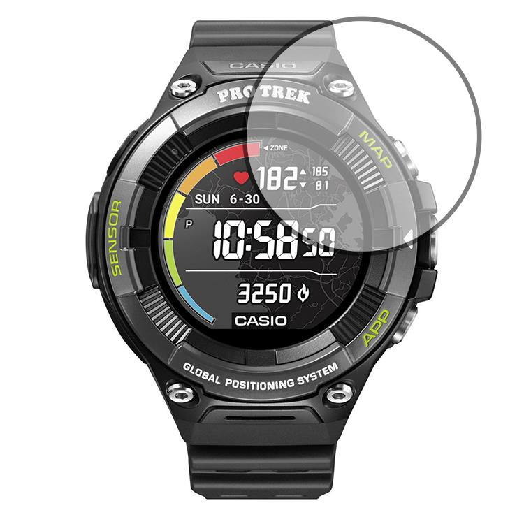 Casio Pro Trek WSD-F21HR screen protector