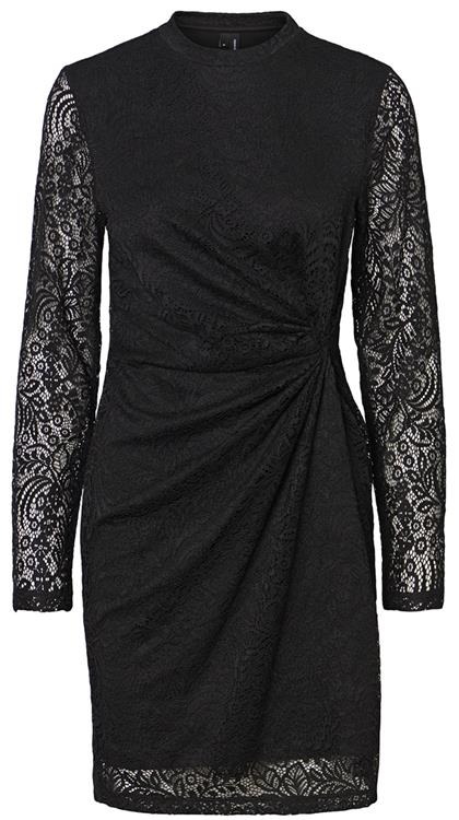 VMMEDINA L/S TWISTED LACE DRESS SB1 Black