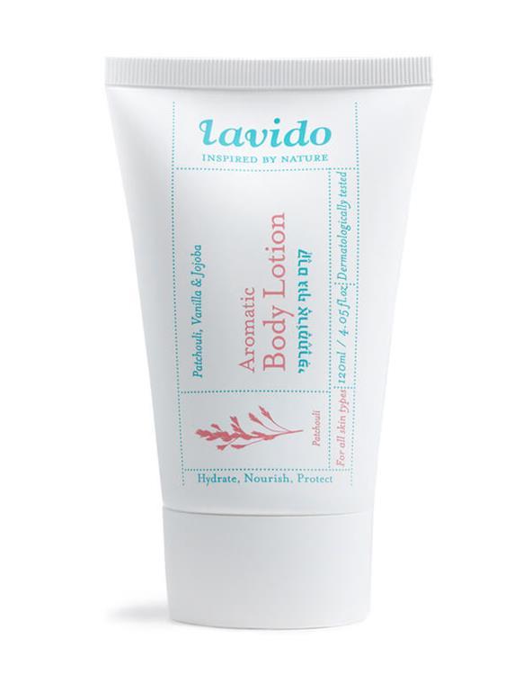 Lavido - Aromatic Body Lotion - Patchouli, Vanilla&Jojoba - 120 ml