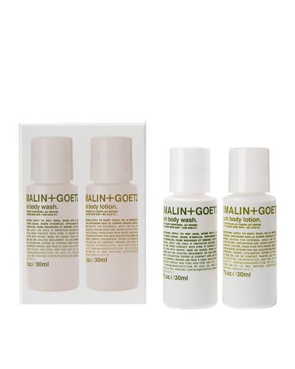 Malin+Goetz - Rum Body Essentials Duo - 2 x 30 ml