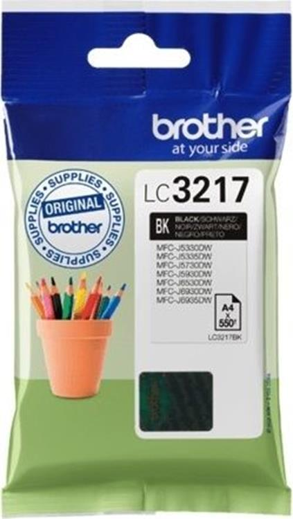 Brother LC-3217 zwart inktcartridge