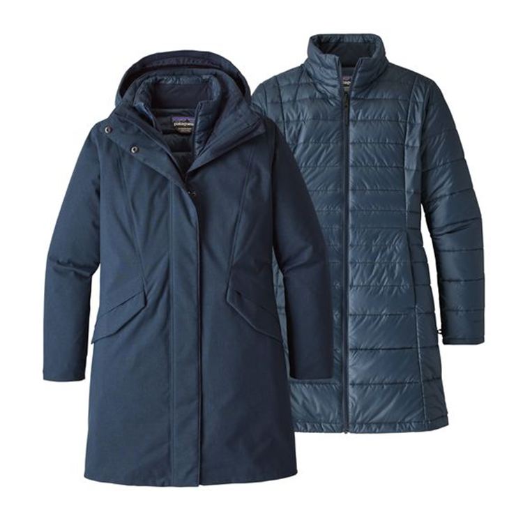 Patagonia Vosque 3 In 1 Parka Dames