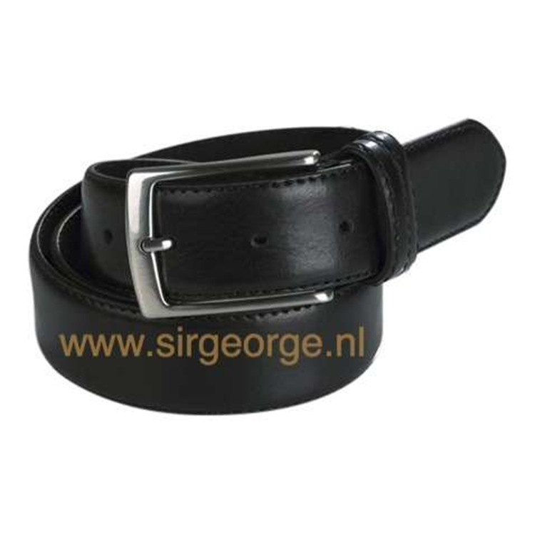 Heren pantalon riem zwart 35mm