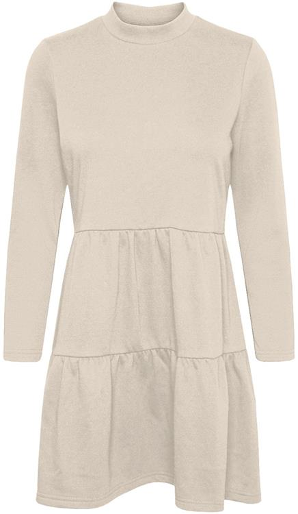 Vmnatalia l/s frill sweat dress Birch