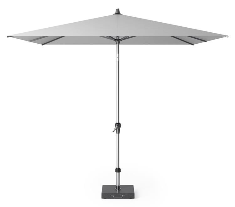 Platinum Riva parasol 2,5x2,5 m - lichtgrijs