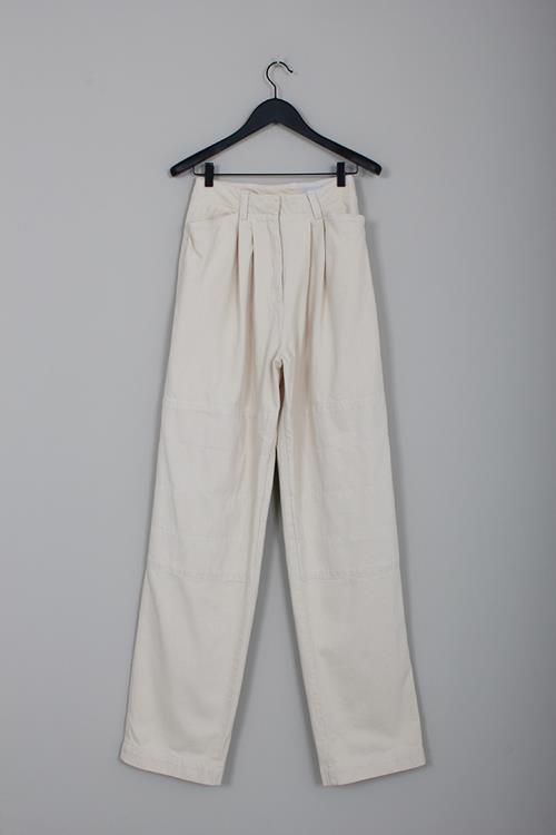 Lemaire baggy pants cream