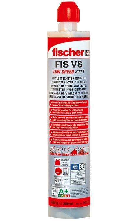 FISCHER Chemisch Anker FIS VS 300 T + GRATIS spuitmond