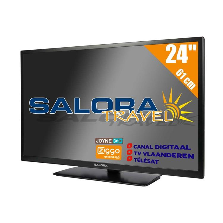 Salora LED TV met Satelietontvanger - 24 inch