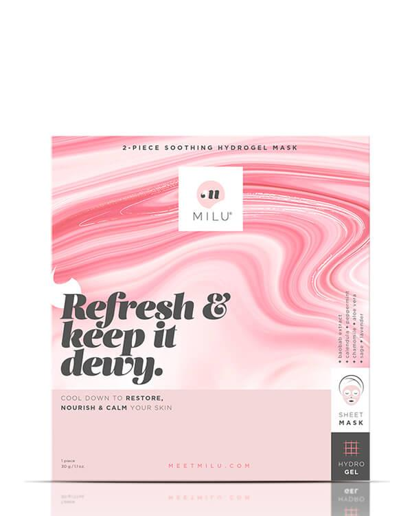 Milu - Soothing Hydrogel Mask - 1 pc