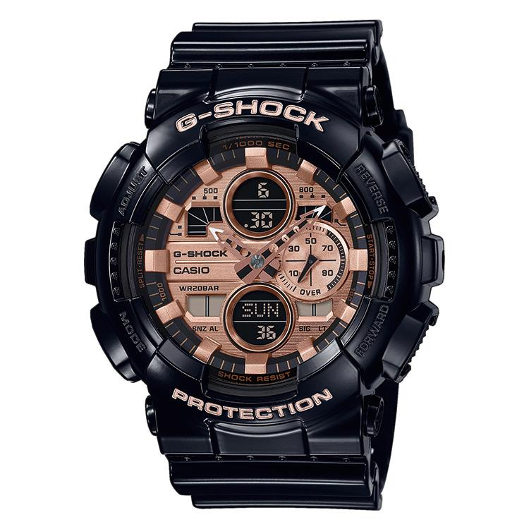 G-Shock GA-140GB-1A2ER - glossy finish