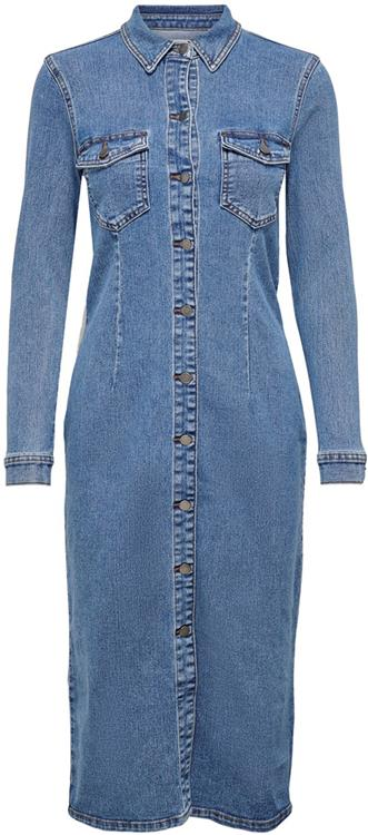 Jdynew juicy long denim dress Medium blue denim