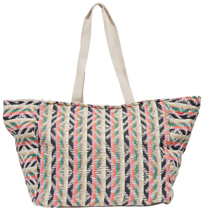 Onlmars beach shopper bag Firecracker multi
