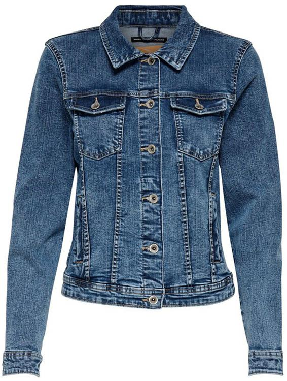 Onltia life denim jacket bb mb bex02 Medium blue denim