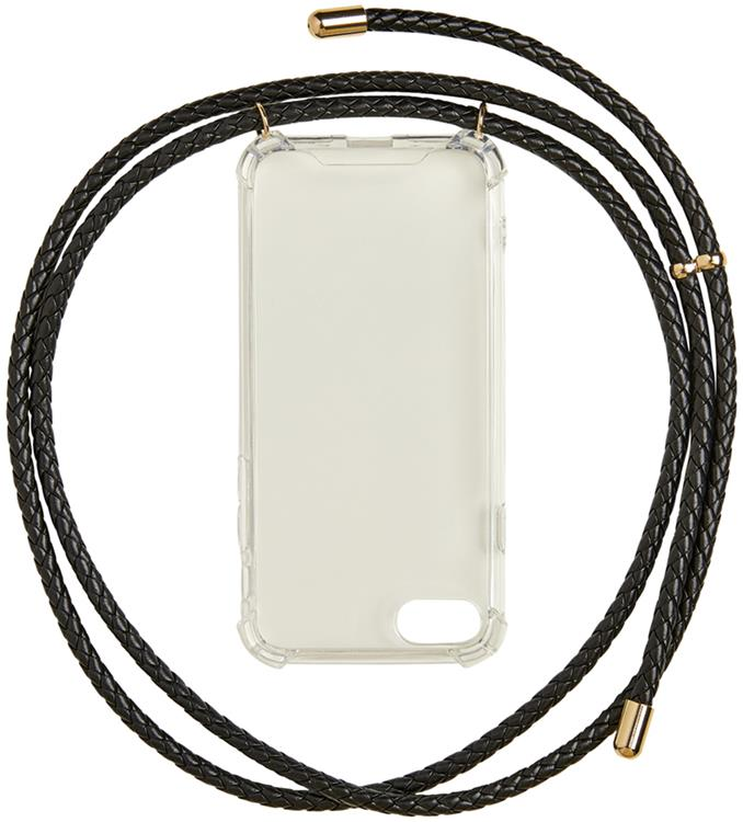 Viefb phone cover w string black