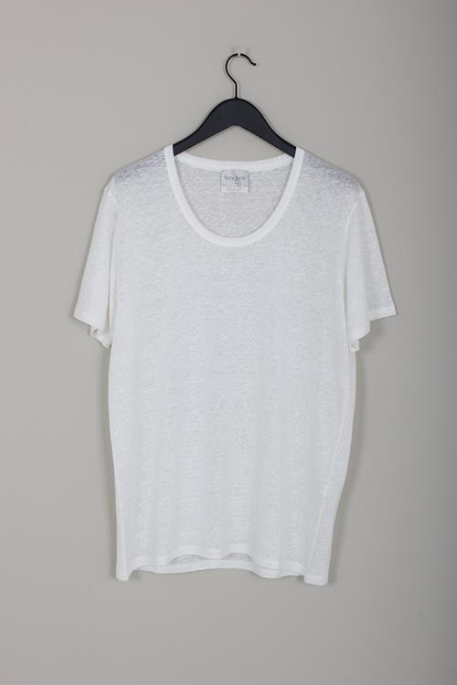 Forte Forte linen jersey t-shirt bianco