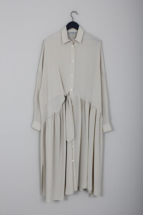 Dusan flowing throw dress chino