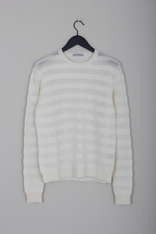 Dusan stripe sweater milk