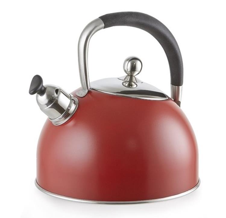 Habonne fluitketel 2,5 liter - rood
