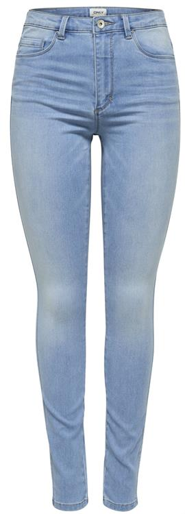 Onlroyal hw sk jeans Light blue denim