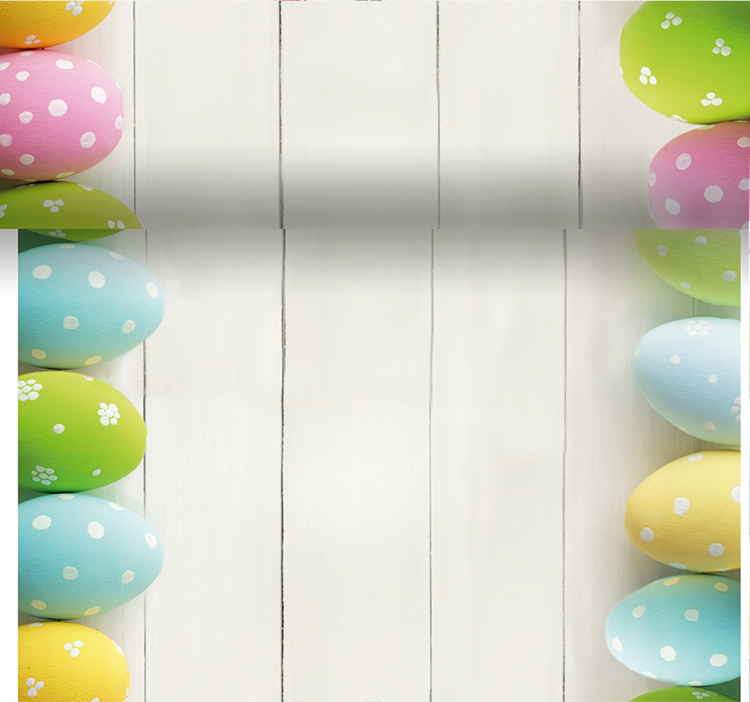 Duni 3-in-1 rol 40x480 cm - easter eggs