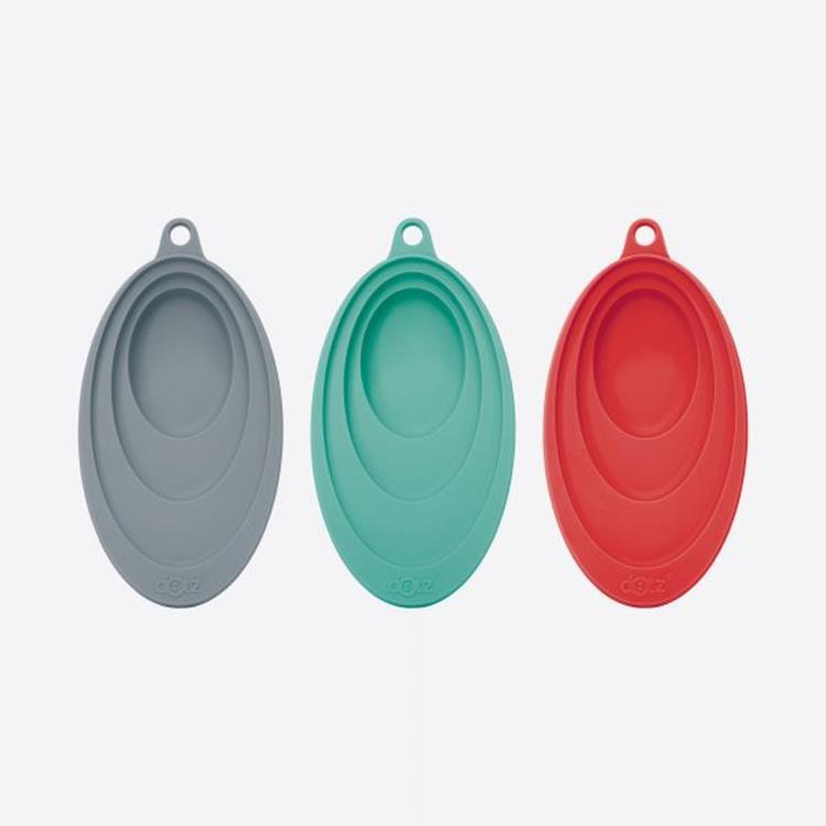 Dotz lepelhouder silicone - rood/blauw/grijs