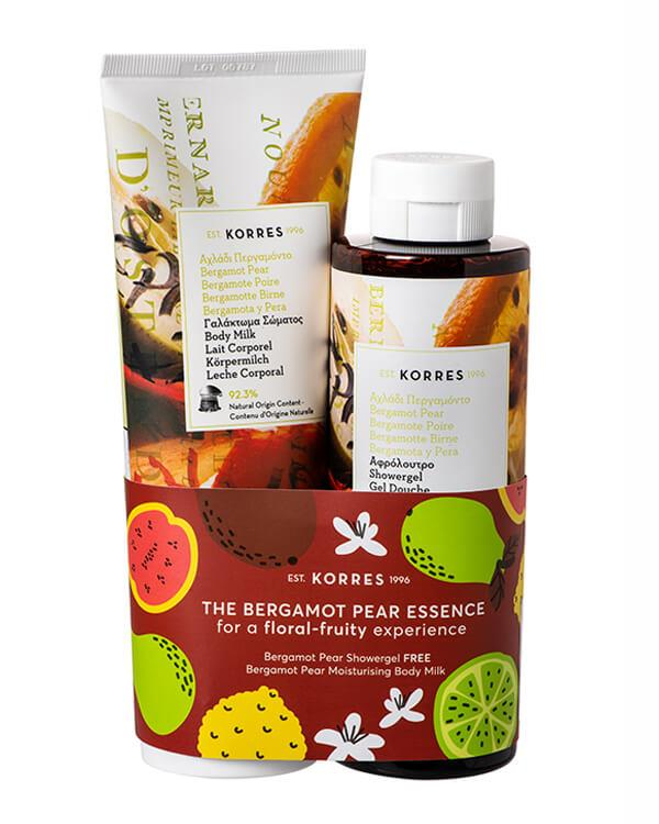 Korres - 1+1 Showergel + Bodylotion - The Bergamot Pear Kit - 250 ml + 200 ml