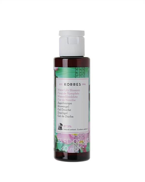 Korres - Water Lily Blossom Showergel - 40 ml