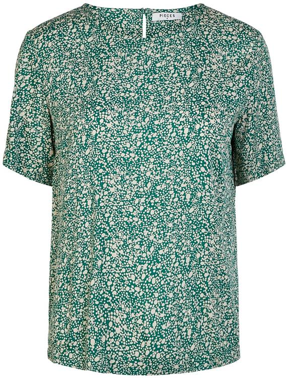 Pcnya ss top pb Verdant green/dots